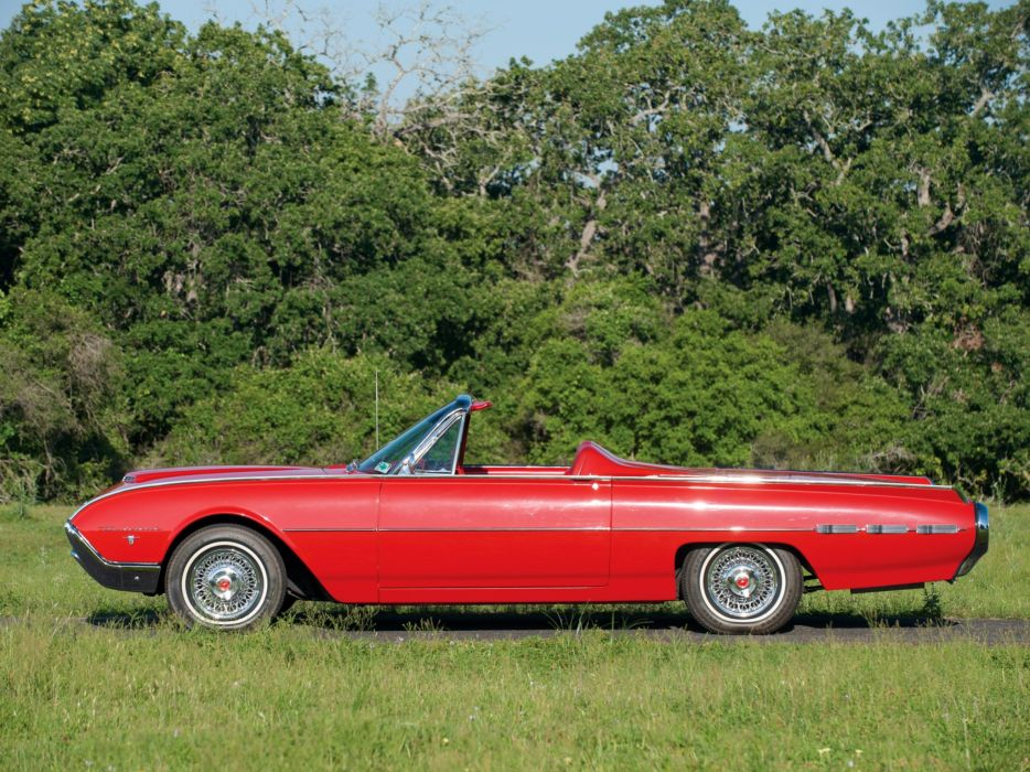 1962 Ford Thunderbird Sports Roadster classic 76b convertible luxury t wallpaper