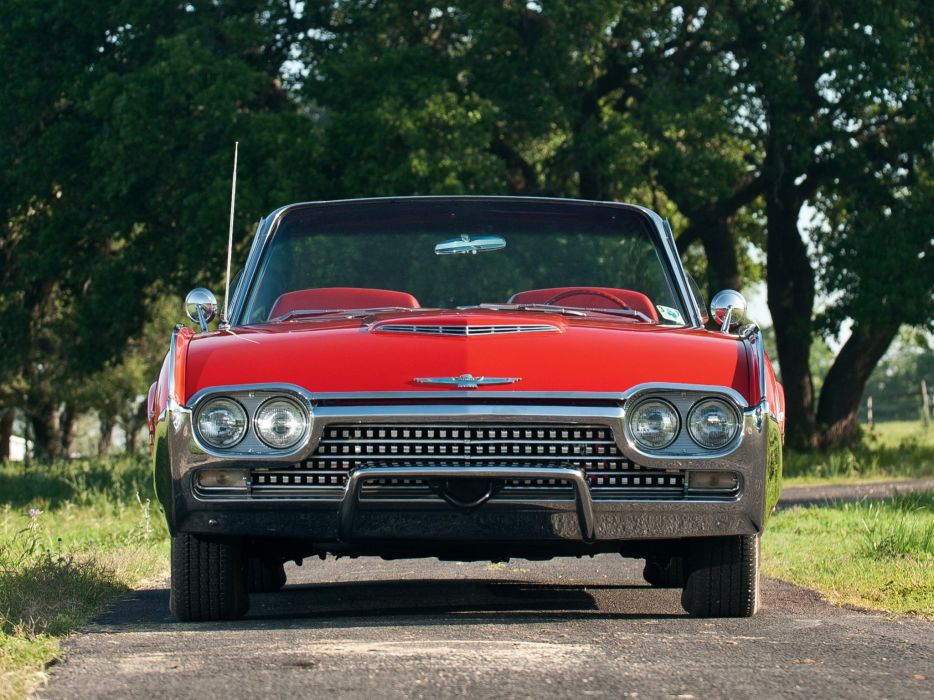 1962 Ford Thunderbird Sports Roadster classic 76b convertible luxury 4 wallpaper