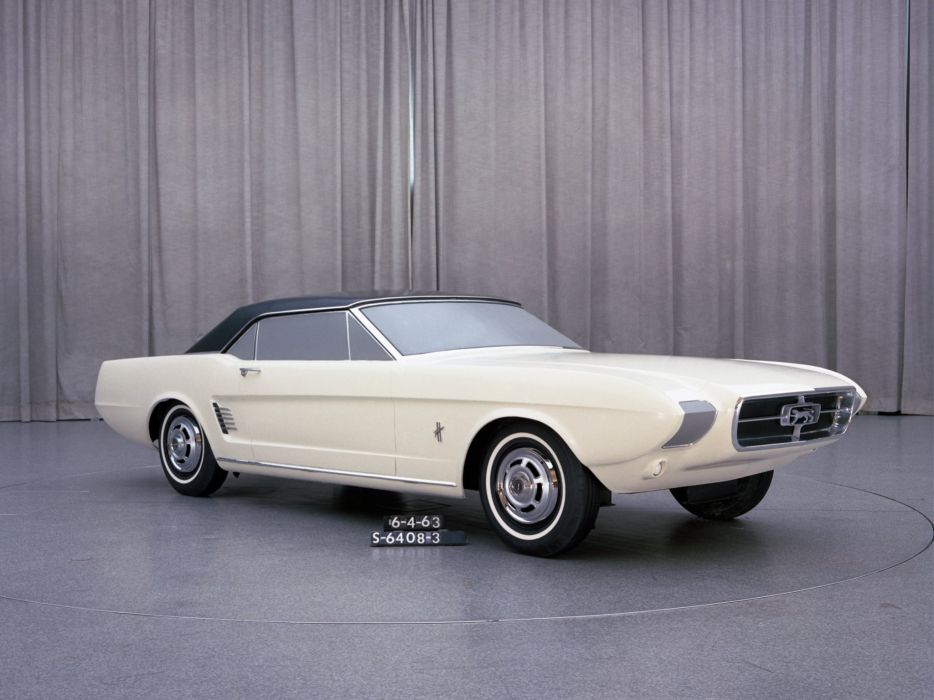 1963 Ford Mustang Concept I-I Proposal muscle classic      g wallpaper