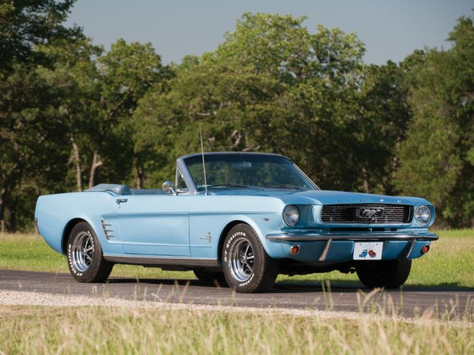 1966 Ford Mustang Convertible muscle classic r wallpaper