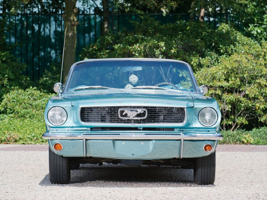 1966 Ford Mustang Convertible muscle classic  fd wallpaper
