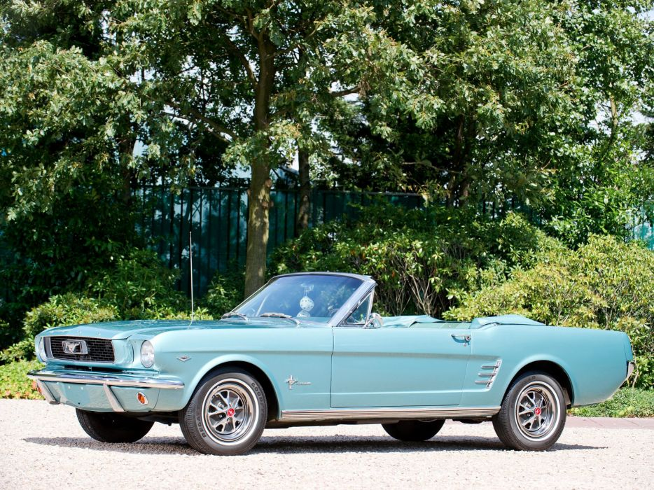 1966 Ford Mustang Convertible muscle classic    g wallpaper