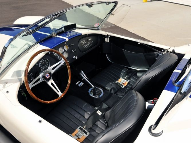 1966 Shelby Cobra 427 (CSX3301) supercar muscle race racing hot rod rods interior g wallpaper