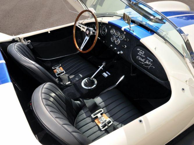 1966 Shelby Cobra 427 (CSX3301) supercar muscle race racing hot rod rods interior g wallpaper