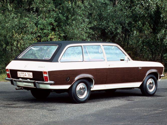 1970-75 Opel Ascona Voyage stationwagon g wallpaper