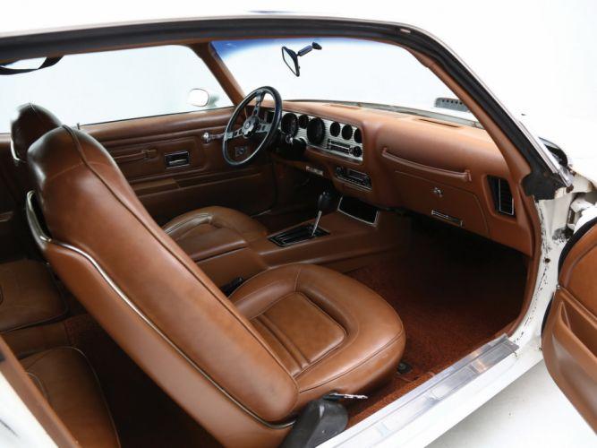 1973 Pontiac Firebird Trans-Am SD-455 muscle classics trans 455 interior g wallpaper