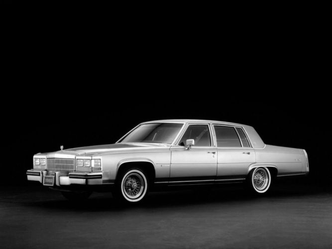 1982-86 Cadillac Fleetwood Brougham luxury g wallpaper