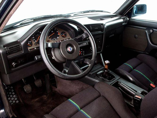 1983 Alpina BMW E30 320i interior f wallpaper