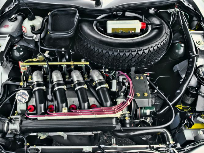 1984-86 Citroen CX25 GTI Turbo engine g wallpaper