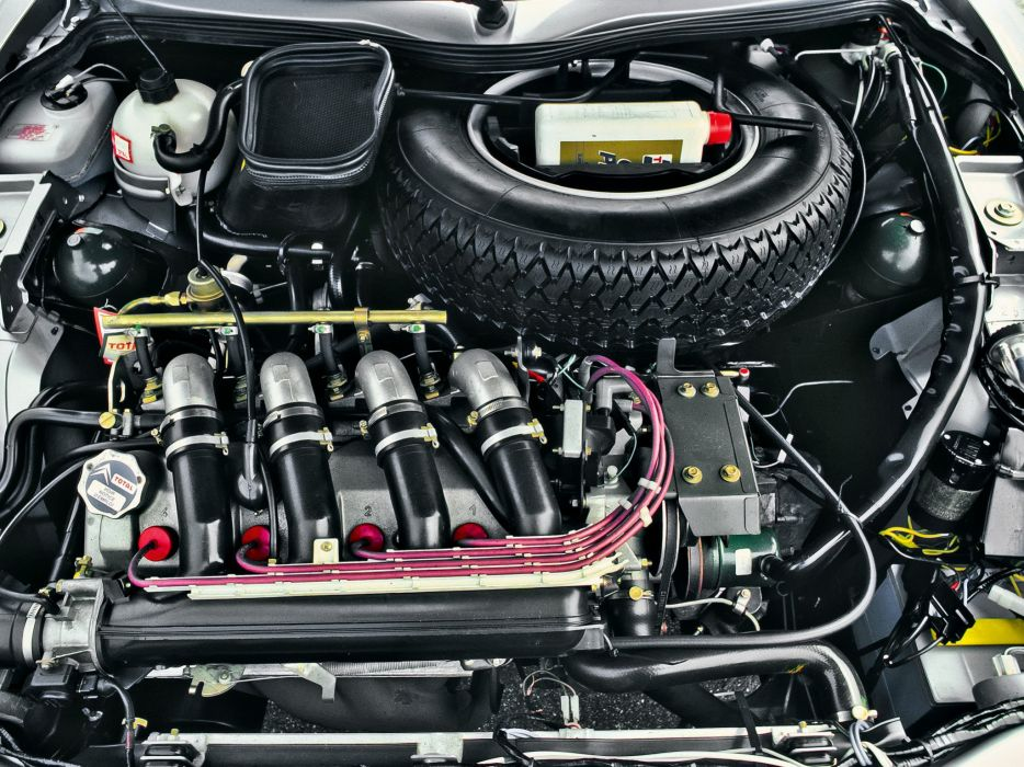 1984-86 Citroen CX25 GTI Turbo engine    g wallpaper