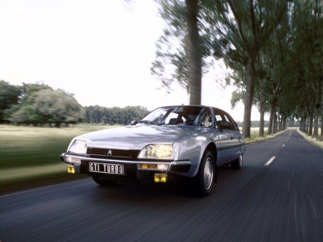 1984-86 Citroen CX25 GTI Turbo r wallpaper