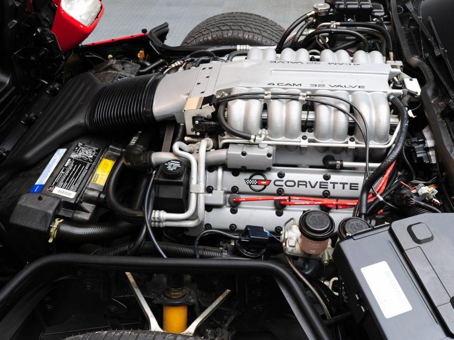 1990 Chevrolet Corvette ZR1 Coupe (C-4) supercar muscle engine        r wallpaper