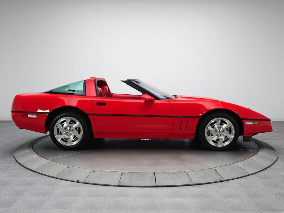 1990 Chevrolet Corvette ZR1 Coupe (C-4) supercar muscle r wallpaper