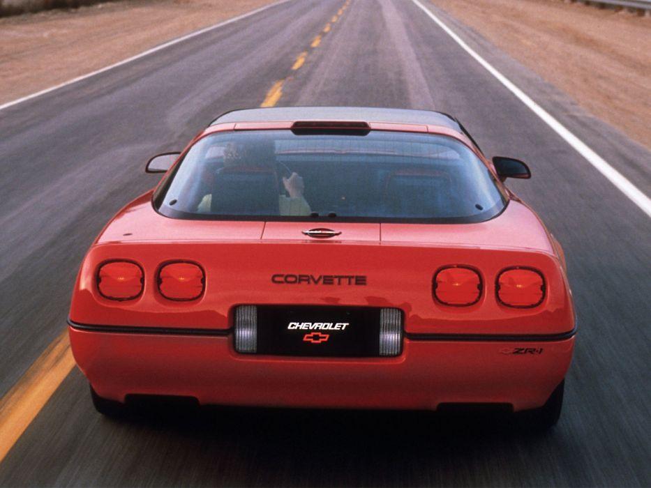1990 Chevrolet Corvette ZR1 Coupe (C-4) supercar muscle n wallpaper
