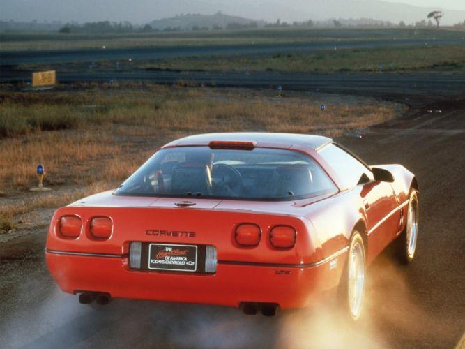 1990 Chevrolet Corvette ZR1 Coupe (C-4) supercar muscle hs wallpaper