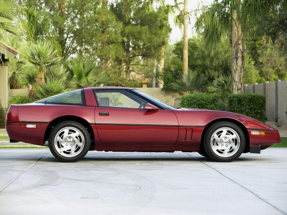 1990 Chevrolet Corvette ZR1 Coupe (C-4) supercar muscle  nd wallpaper