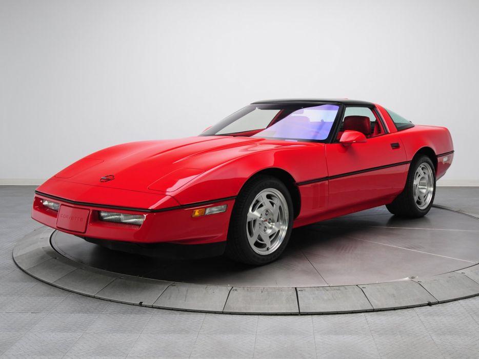 1990 Chevrolet Corvette ZR1 Coupe (C-4) supercar muscle  h wallpaper