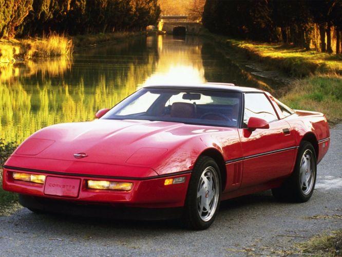 1990 Chevrolet Corvette ZR1 Coupe (C-4) supercar muscle gd wallpaper