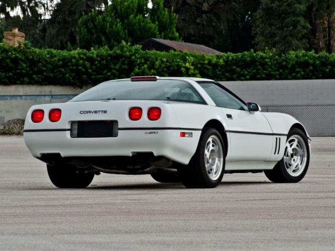 1990 Chevrolet Corvette ZR1 Coupe (C-4) supercar muscle g wallpaper