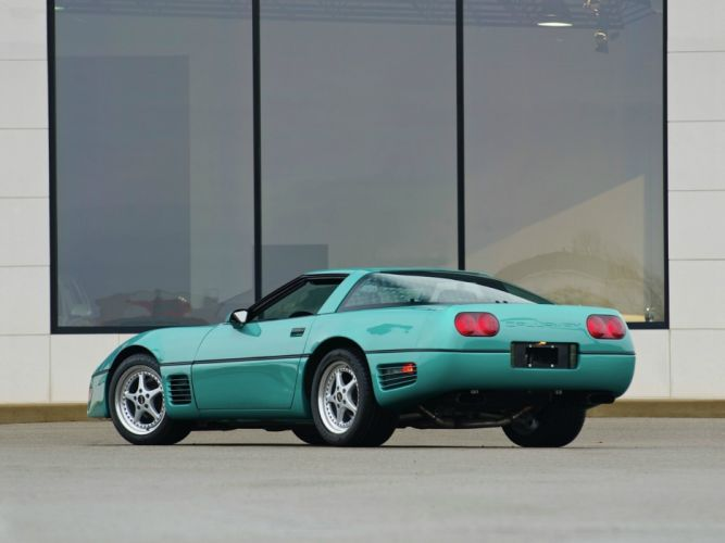 1991 Callaway C-4 Twin Turbo Aerobody Chevrolet Corvette (B2K) supercar muscle tuning r wallpaper