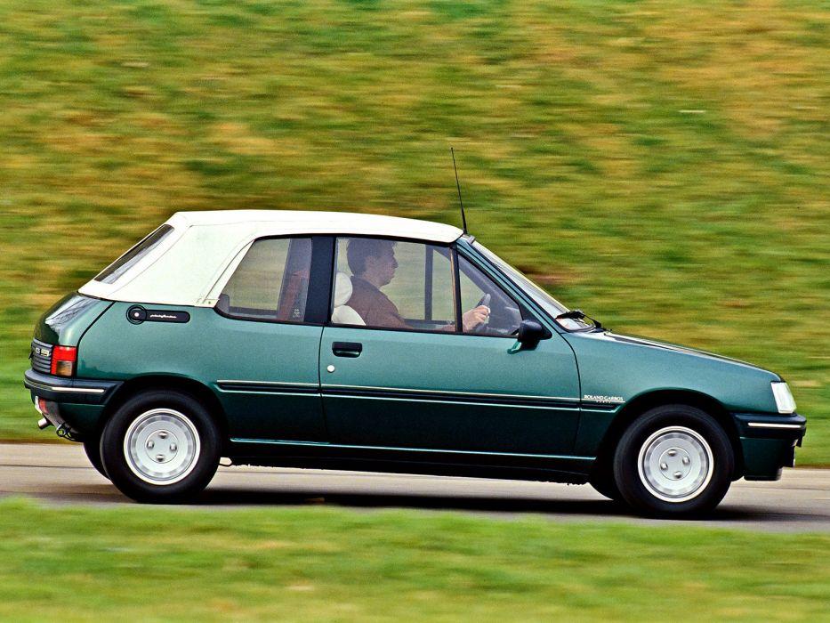 1990 Peugeot 205 Cabrio Roland Garros     g wallpaper