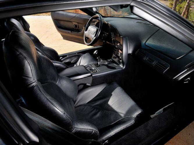1991-95 Chevrolet Corvette ZR1 Coupe (C-4) supercar muscle interior ff wallpaper