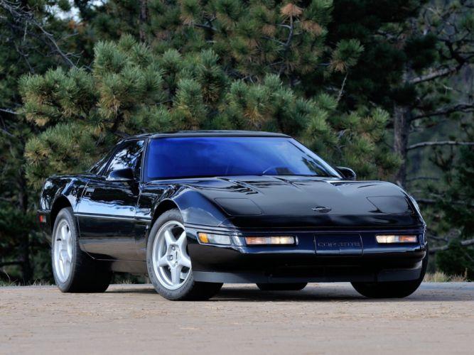 1991-95 Chevrolet Corvette ZR1 Coupe (C-4) supercar muscle gd wallpaper