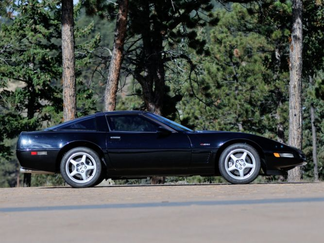 1991-95 Chevrolet Corvette ZR1 Coupe (C-4) supercar muscle f wallpaper
