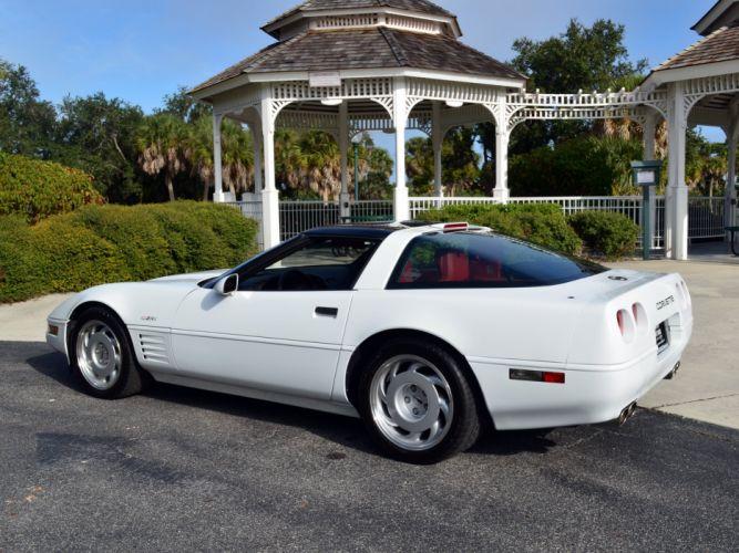 1991-95 Chevrolet Corvette ZR1 Coupe (C-4) supercar muscle rw wallpaper