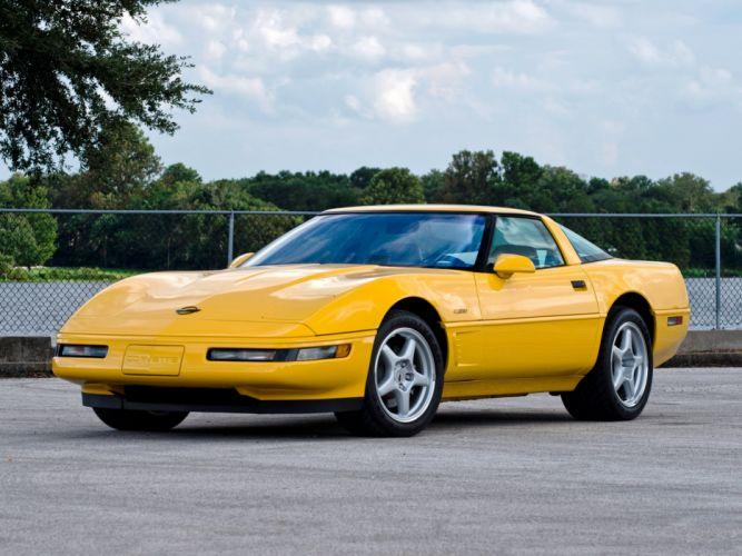 1991-95 Chevrolet Corvette ZR1 Coupe (C-4) supercar muscle r wallpaper