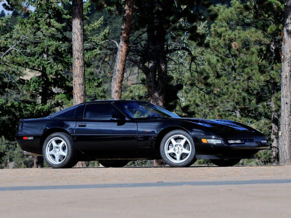 1991-95 Chevrolet Corvette ZR1 Coupe (C-4) supercar muscle   g wallpaper