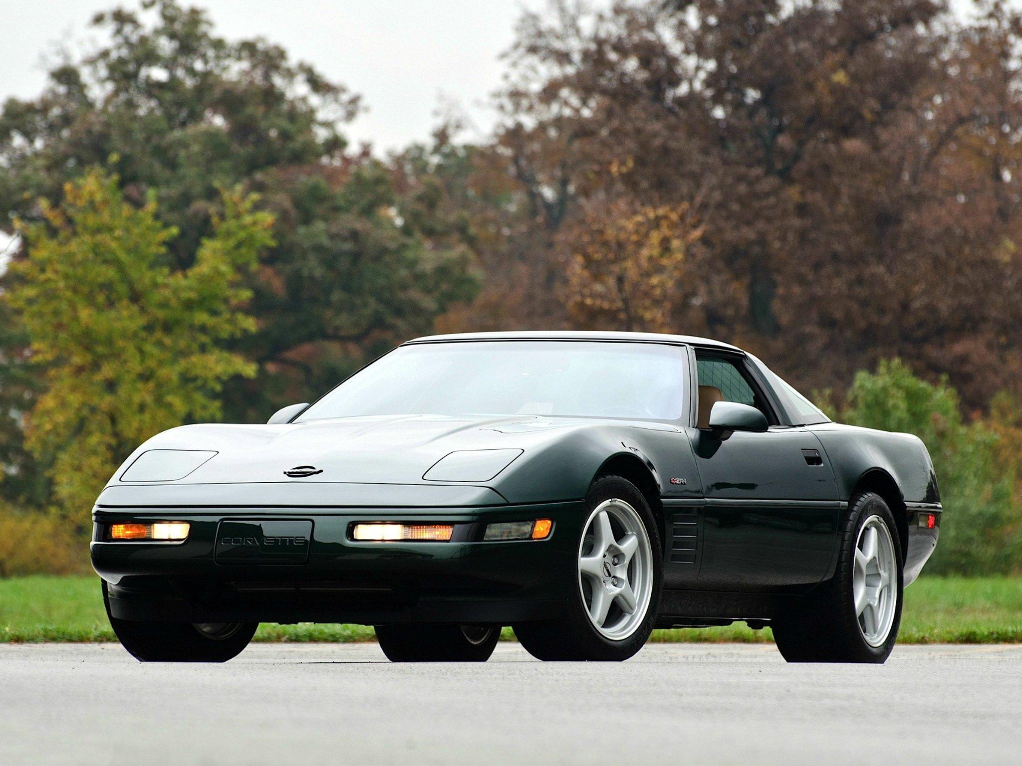 1991 95 Chevrolet Corvette Zr1 Coupe C 4 Supercar Muscle