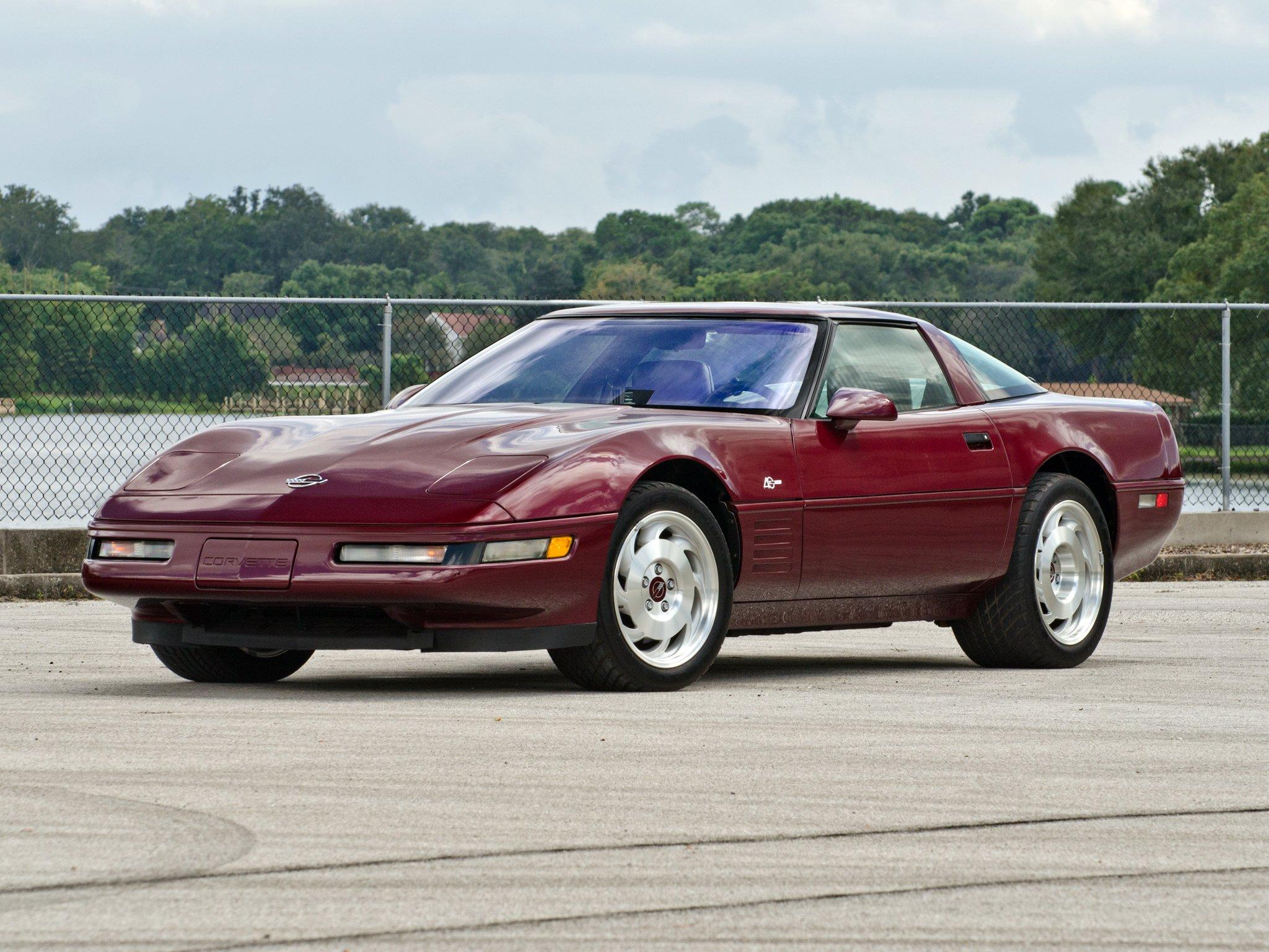 1993 Chevrolet Corvette ZR1 Coupe 40th Anniversary (C-4 ...