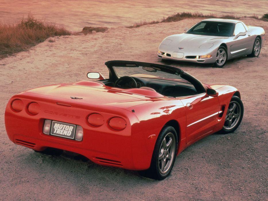 1997-04 Chevrolet Corvette C-5 supercar muscle  g wallpaper