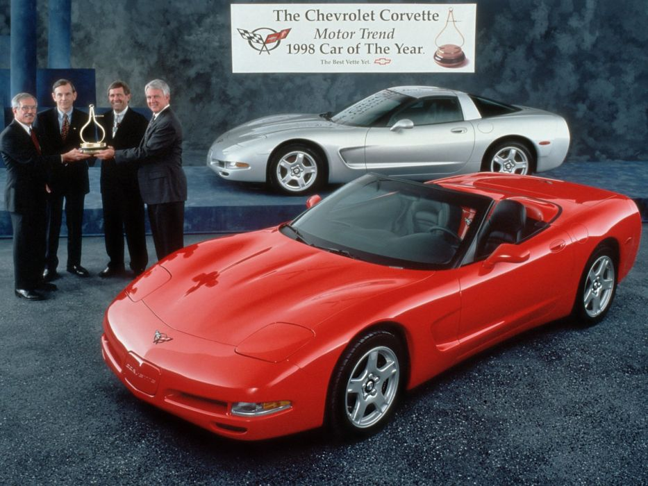 1997-04 Chevrolet Corvette C-5 supercar muscle  f wallpaper