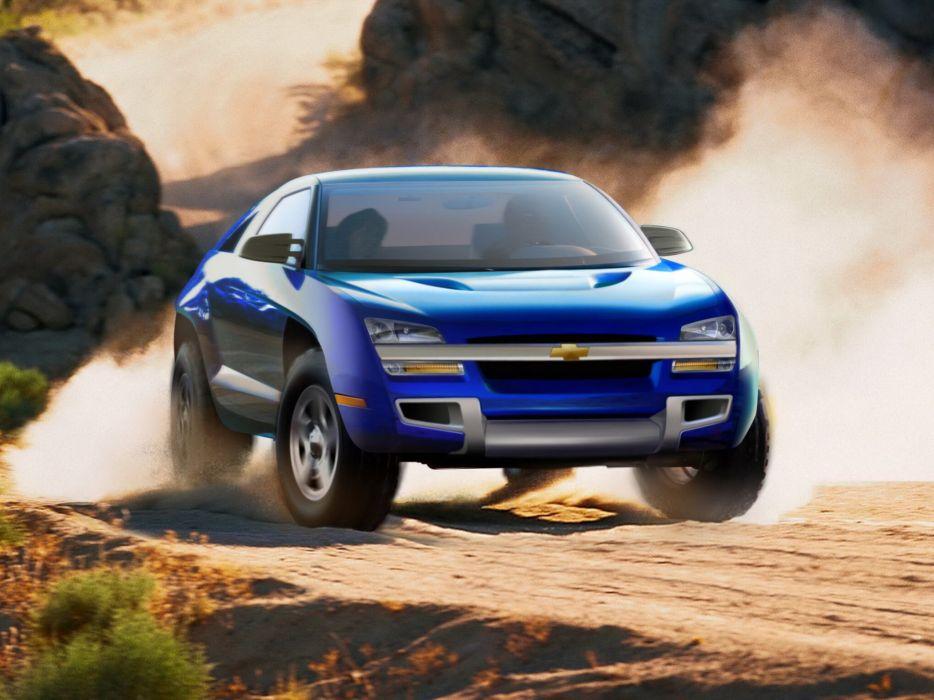 2001 Chevrolet Borrego Concept awd 4x4      f wallpaper