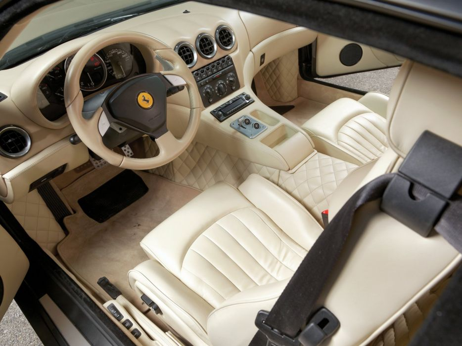 2006 Ferrari 575 GTZ supercar interior    g wallpaper