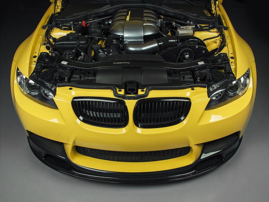 2013 IND BMW M-3 Sedan Dakar Yellow (E90) tuning engine    h wallpaper