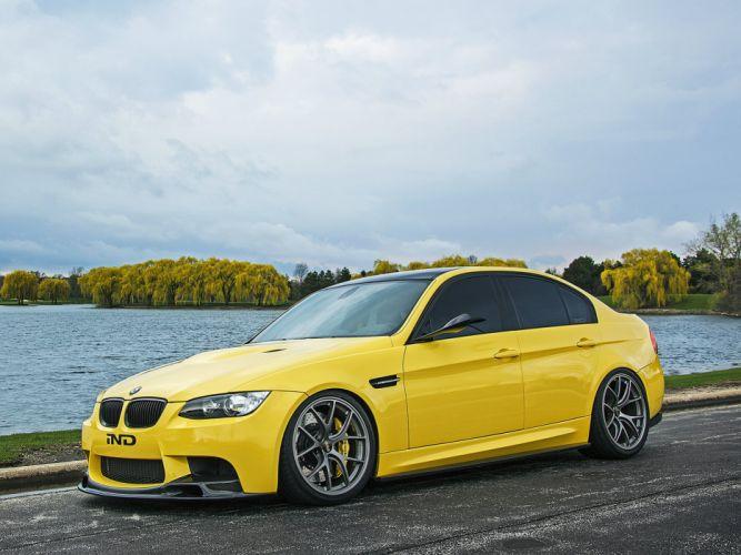 2013 IND BMW M-3 Sedan Dakar Yellow (E90) tuning gg wallpaper