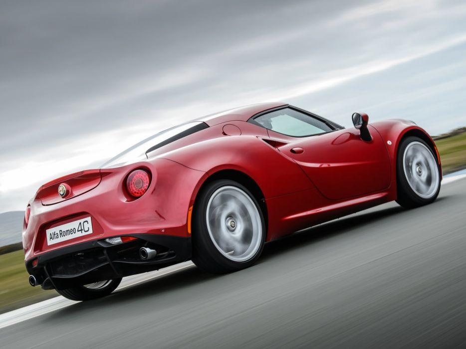 2014 Alfa Romeo 4-C 960 supercar  t wallpaper