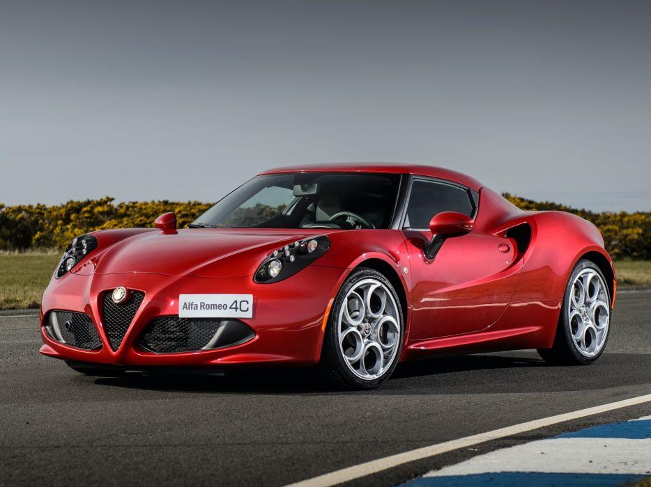 2014 Alfa Romeo 4-C 960 supercar  gg wallpaper