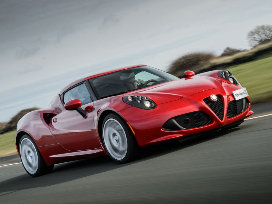 2014 Alfa Romeo 4-C 960 supercar  y wallpaper