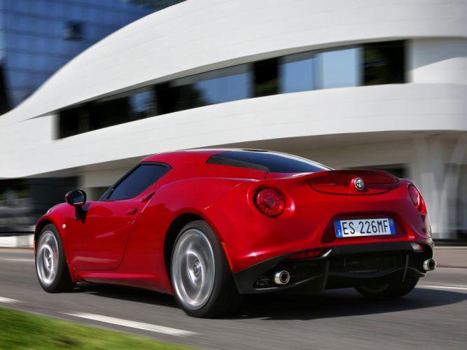 2014 Alfa Romeo 4-C 960 supercar rh wallpaper