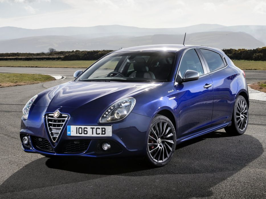 2014 Alfa Romeo Giulietta Sportiva UK-spec (940)  f wallpaper