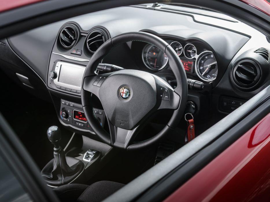 2014 Alfa Romeo MiTo Sportiva UK-spec 955 interior     g wallpaper