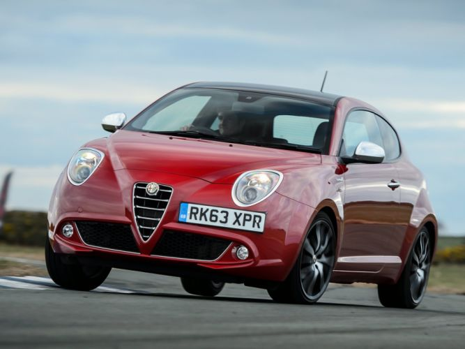2014 Alfa Romeo MiTo Sportiva UK-spec 955 g wallpaper
