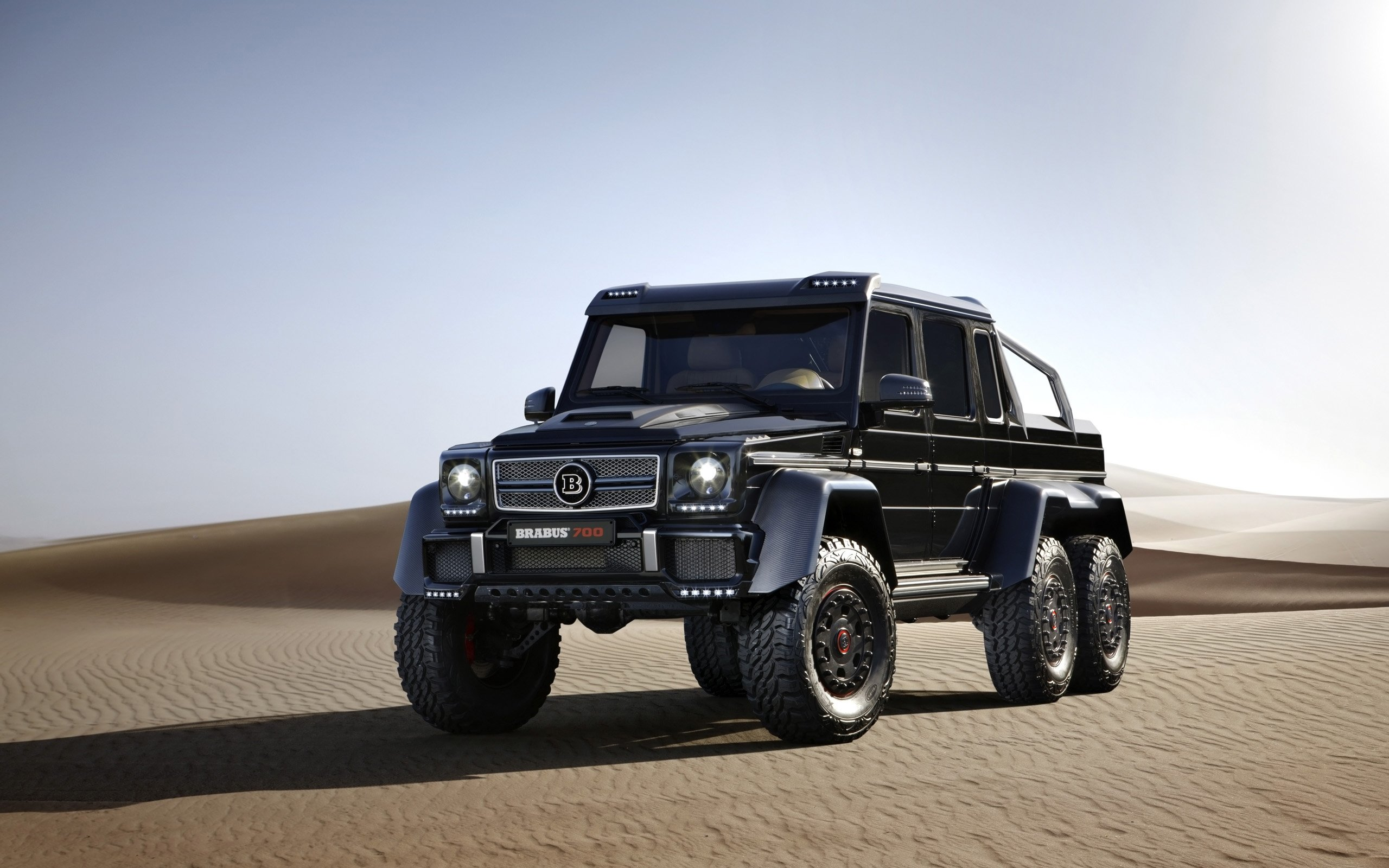 Mercedes 6X6 For Sale >> 2014 Brabus Mercedes Benz B63S 700 6x6 pickup suv tuning offroad g wallpaper | 2560x1600 ...