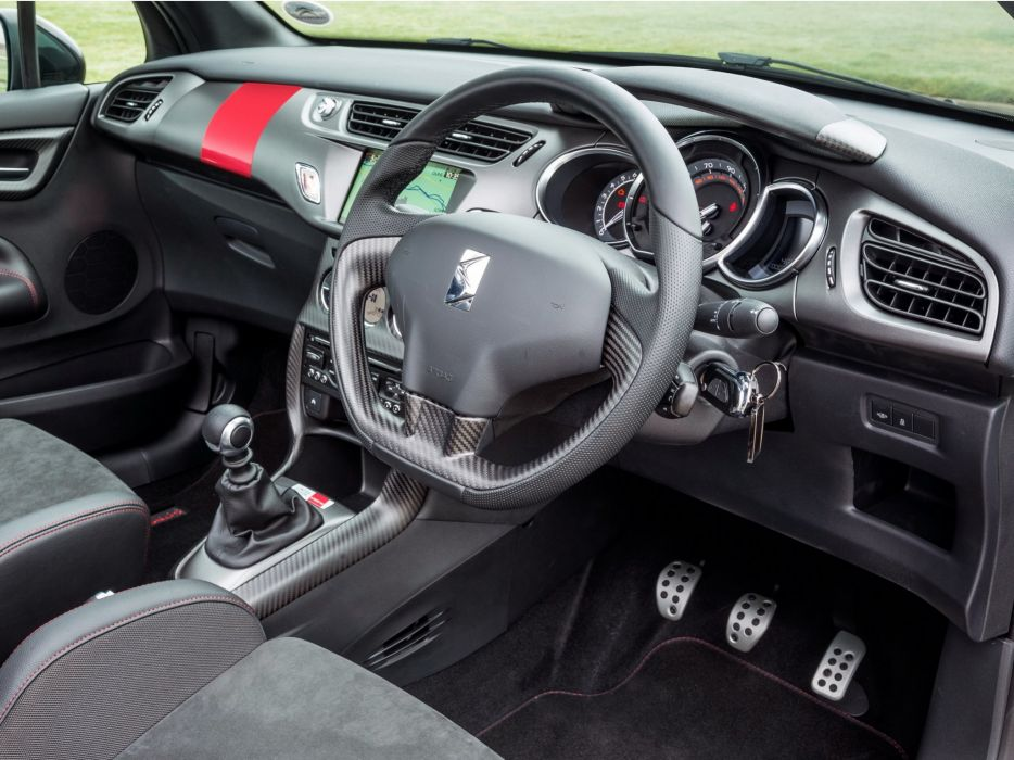 2014 Citroen DS3 Cabrio Racing UK-spec race interior     g wallpaper