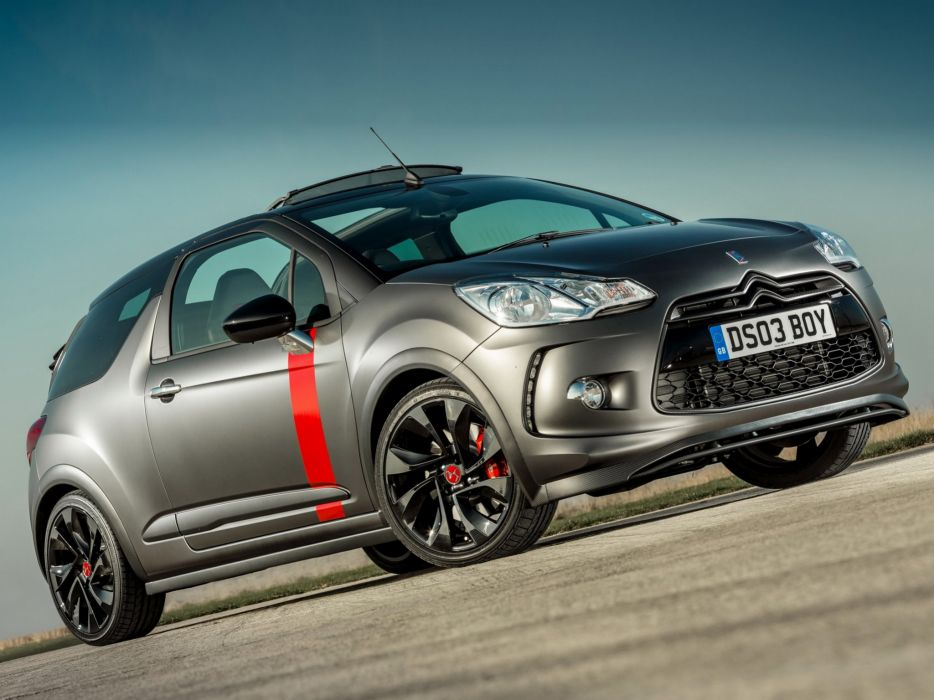 2014 Citroen DS3 Cabrio Racing UK-spec race  gd wallpaper