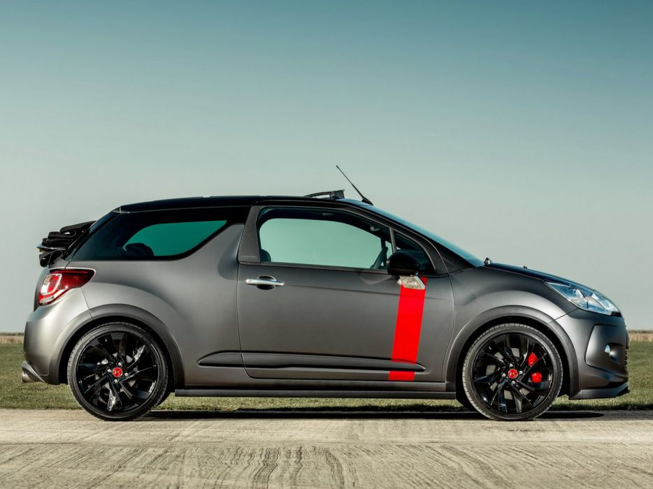 2014 Citroen DS3 Cabrio Racing UK-spec race  g wallpaper